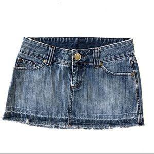 Hurley Denim Mini Skirt